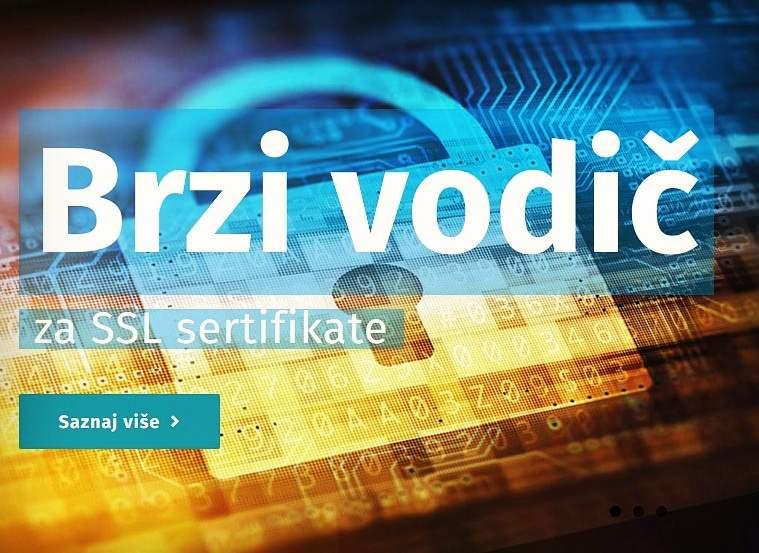 brzi vodič za SSL sertifikate