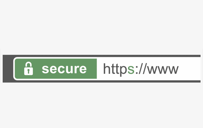 HTTPS adresni bar